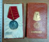 LOT 2 MEDALII COMUNISTE -MEDALIA MUNCII+ A XXV A ANIVERSARE A ELIBERARII PATRIEI
