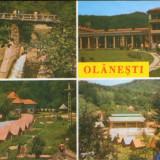 Intreg postal ilustrat 1995 circulat - Olanesti - Colaj de imagini, Dupa 1950