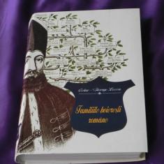 Familiile boieresti romane istorie si genealogie - Octav George Lecca (f0835