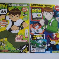 Lot 2 reviste Ben 10, nr. 3/22 iulie 2009 si nr. 22/2011 - Reviste benzi desenate