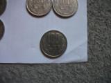 100 lei 1992-numere rotunde -rara