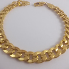 Bratara Barbati dublu placat aur 24K cod STB 4 - Bratara placate cu aur, Unisex