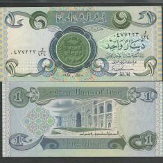 IRAK IRAQ 1 DINAR 1984 UNC [1] P-69a.3, necirculata - bancnota asia