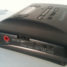 Panasonic Walkman casetofon Recorder Reportofon metal functional casti + remote