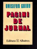 Onisifor Ghibu - Pagini de jurnal, 1935 -1963, format mare, 434 pagini