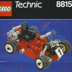 LEGO - Technic Speedway Bandit #8815 ( vintage set din 1991! ), 6-10 ani