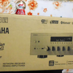 YAMAHA RN602 Wireless Bluetooth USB Network amplituner NOU cutie 2 ani garantie - Amplificator audio Yamaha, 121-160W