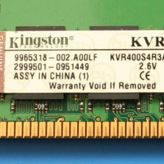Memorie RAM server DDR 400 3GB 6 x 512MB ECC CL3 Kingston - Memorie server