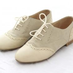 Pantofi de dama, din piele naturala, interior-exterior, Leofex, marimea 38 - Pantof dama, Culoare: Din imagine, Cu talpa joasa