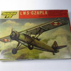 F Macheta avion vechi LWS CZAPLA (RWD-14b) model kit Polonia - Macheta Aeromodel Alta, 1:72