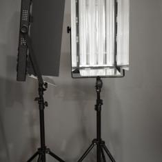 Lumina continua flourescenta 4 x 55w (2 bucati) - Lampa Camera Video