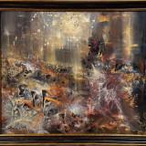 Pista spre infinit 1 despre eternitate peisaj mental 100cm KLOSKA - Pictor roman, Peisaje, Acrilic, Suprarealism