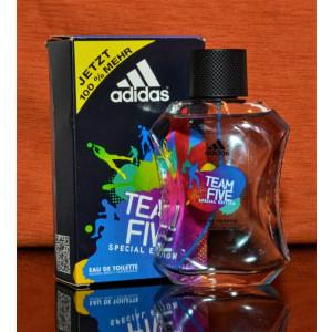 Parfum Adidas- Team Five Special Edition- Eau De Toilette 100ML,aproape nou #445