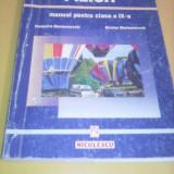 FIZICA MANUAL CLASA IX CLEOPATRA GHERBANOVSCHI, EDITURA NICULESCU - Manual scolar, Clasa 9