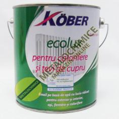 Vopsea alba ecologica pe baza de apa Kober 2, 5l