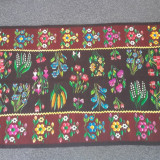 Covor lana - scoarta olteneasca 130x250cm