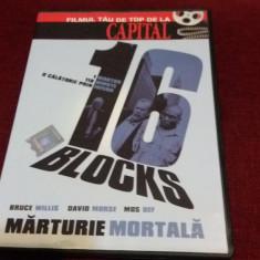 XXP FILM DVD 16 BLOCKS - Film actiune Altele, Romana
