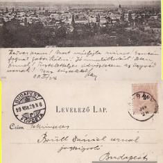 Baia Mare - clasica, rara - Carte Postala Maramures pana la 1904, Circulata, Printata
