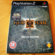 Joc God of War II Special Edition, PS2, original, alte sute de jocuri! - Jocuri PS2 Sony, Actiune, 18+, Single player
