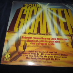 Ennio Morricone - Sound Giganten(Greatest Hits) _vinyl, LP, Austria, K-tel Records - Muzica soundtrack Altele, VINIL