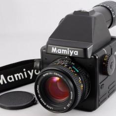 Mamiya 645E cu obiectiv Sektor C 80mm 2.8 in stare excelenta. - Aparat Foto cu Film Mamiya