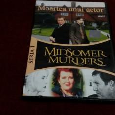 FILM DVD  MIDSOMER MURDERS  - MOARTEA UNUI ACTOR, Aventura, Romana