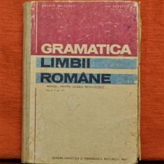 Carte - Gramatica limbii romane - manual pt. liceele pedagogice anii 1 si 2 #449 - Culegere Romana, Didactica si Pedagogica
