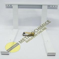 Suport cuptor microunde reglabil alb - piesa cuptor