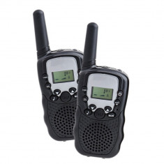 Resigilat : Statie radio walkie talkie PNI PMR T8 emisie receptie, set 2 buc