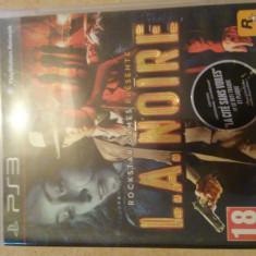 L.A. Noire JOC PS3 - Jocuri PS3 Rockstar Games