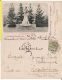 Baia Mare - Statuia Lendvay Marton-clasica, rara, Circulata, Printata
