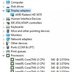 Vand pachet Placa de baza + Procesor I3 540 + Placa Video AMD Radeon HD5670 Intel