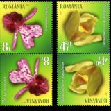 2017 - Romania - ORHIDEE-TÊTE BÊCHE, Natura, Nestampilat