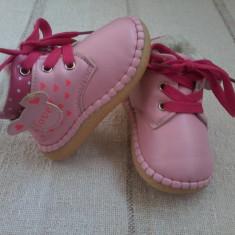 Gheata roz pentru fetite foarte frumoasa marimea 20/21 - Ghete copii, Culoare: Din imagine, Fete, Piele sintetica