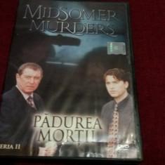 FILM DVD  MIDSOMER MURDERS  - PADUREA MORTII, Aventura, Romana