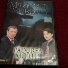 FILM DVD MIDSOMER MURDERS - PADUREA MORTII - Film serial Altele, Aventura, Romana