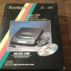 CD player Technics portabil