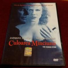 XXP FILM DVD CULOAREA MINCIUNII - Film actiune Altele, Romana