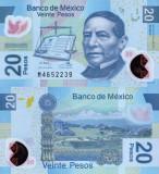 MEXIC 20 pesos 2011 polymer UNC!!!