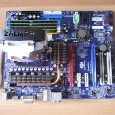 Kit Gaming baza Sapphire/Proc Quad 3, 0 GHz/16 GB Ram. - Placa de Baza Sapphire, Pentru AMD, AM2, DDR2, Contine procesor