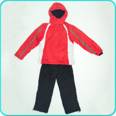 Costum ski / iarna, impermeabil, calitate CRANE _ fete | 11-12 ani | 146-152 cm - Echipament ski Crane, Copii