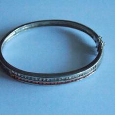Bratara de argint cu zirconii-1046 - Bratara argint