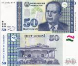 TADJIKISTAN 50 somoni 1999 UNC!!!