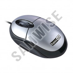 Mouse NOU BASE XX Optic, cu fir, USB, 3 butoane....GARANTIE 12 LUNI !!!, Optica, Sub 1000