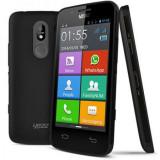 Telefon smartphone android dual sim Yezz az 4.5 - Telefon mobil Dual SIM Yezz, Negru, 8GB, Neblocat, Quad core, 1 GB