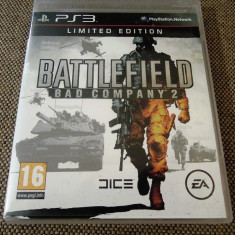 Battlefield Bad Company 2 Limited Edition, PS3, original, alte sute de jocuri! - Jocuri PS3 Ea Games, Shooting, 16+, Multiplayer