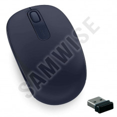 Mouse NOU Microsoft Mobile 1850, Wireless, 1000DPI, Wool Blue, GARANTIE 1 AN !!!, Optica, 1000-2000