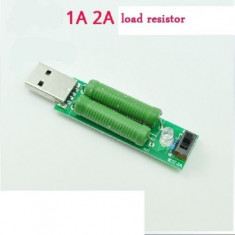 1A 2A USB charge current detection test load resistor module