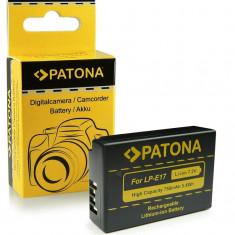 Acumulator pt Canon LP-E17, EOS 750D, 760D, 8000D, Kiss X8i, marca Patona, - Baterie Aparat foto PATONA, Dedicat