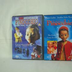 Vand 2 dvd-uri  cu filmul Pinochio, originale , zona 1!